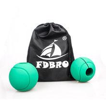 FDBRO 1 пара Штанги Гантели жировые ручки толстые ручки для тяжелой атлетики противоскользящие защитные накладки(Китай)