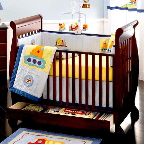 Wooden Baby Cot Designs Sleigh