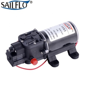FL-3202 5.1lpm 80psi 5.5 bar 12v dc mini high pressure car wash pump