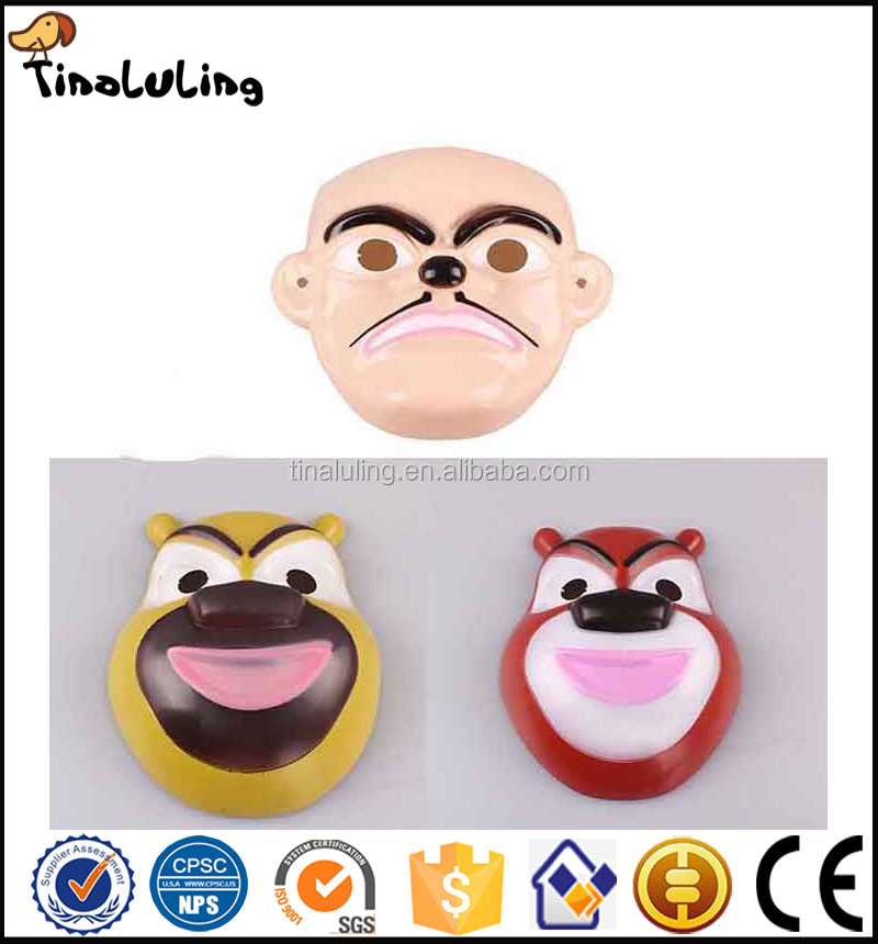 China manufacturing children used cartoon bear face mask