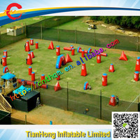 inflatable paintball game / inflatable CS bunkers for outdoor CS game