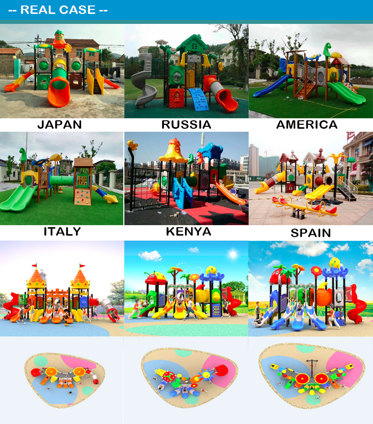Top sale new style outdoor playground equipment