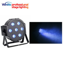 china quality lighting 7x3w 3in1 led par Mini flat can light cheap price for sale