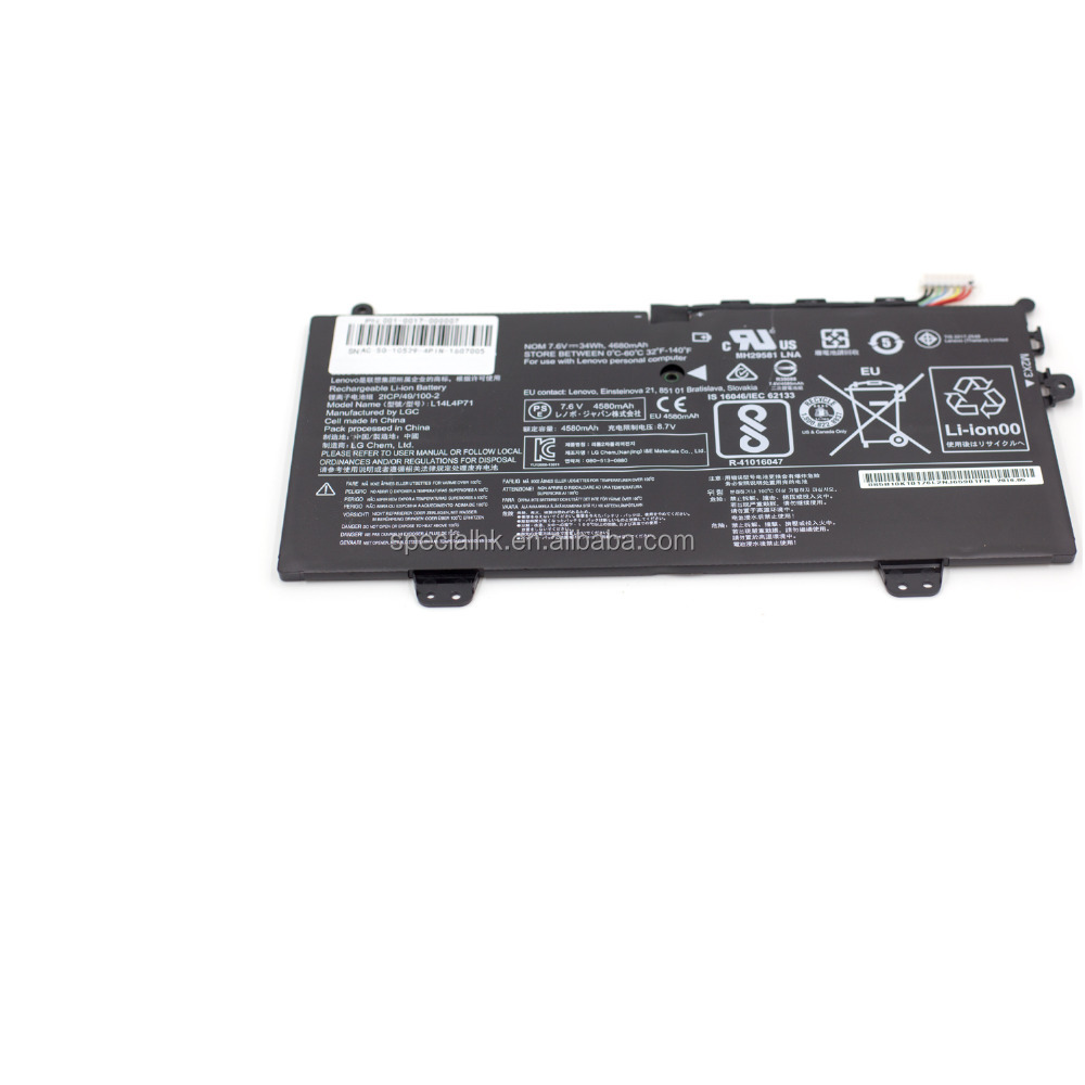 Brand New laptop battery L14L4P71 Battery for Lenovo Yoga 3 Pro 11 80J80021US 2ICP/49/100-2