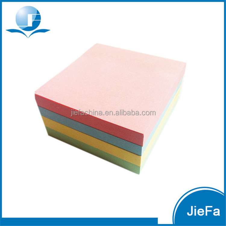Recycled Custom Shaped Sticky Note Memo Pad