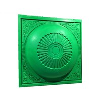 High Quality FRP Material Silicone Material Ceiling Center Rosettes Moulds