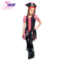 Factory direct sell carnaval costumes girls pirate party cosplay costumes