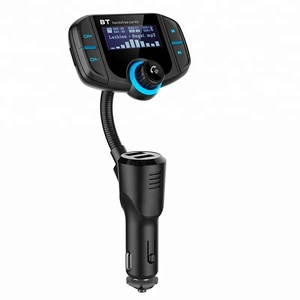 Wireless Bluetooth V4.2 car Stereo Modulator QC3.0 Dual USB Charger bluetooth Car Kit Handsfree MP3 Player FM Transmitter