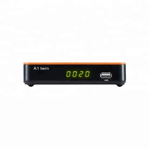 2018 New satellite receiver Agenius A1 twin with ACM iks sks and support CS wifi for Latin America