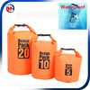 500D PVC tarpaulin swimming waterproof dry bag backpack, custom logo dry bags drifting