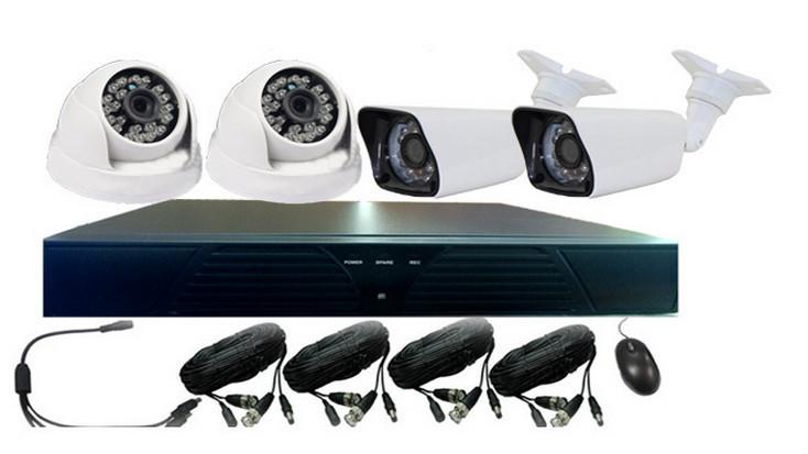 Cheap Cctv Camera Ahd Board Kit Used Day Night Kit Dvr 4 Cameras ...
