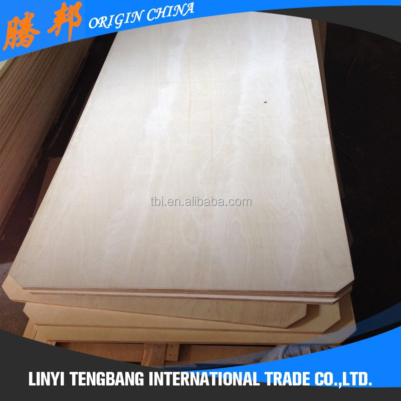 Colored polyester overlay plywood for first choice furniture grade plywood board