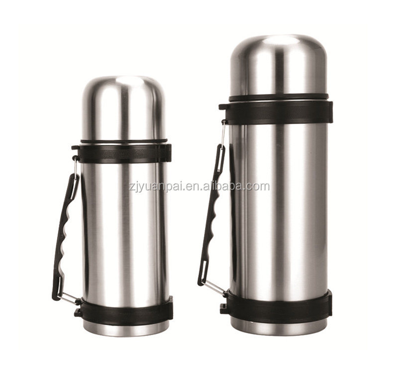 vacuum thermos flask travel pot with handle ,manufacturer