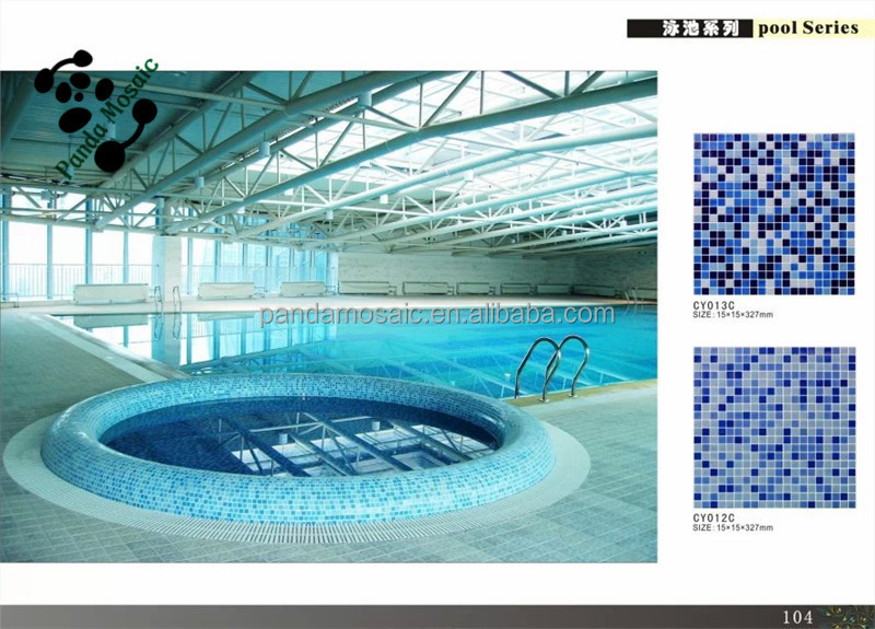 Mb Cheap Decorative Swimming Pool Tile Design Dolphin Pattern