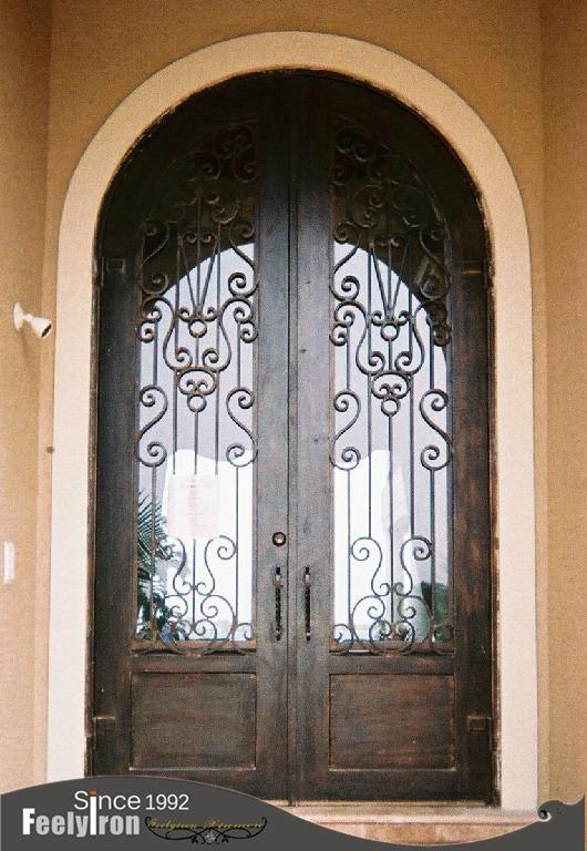 Oval Door Akshara Veneered Oval Shape Moulded Door Sc
