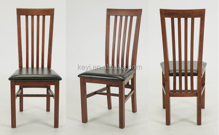 Upolstered Kitchen Chairs Wood Back With  Design