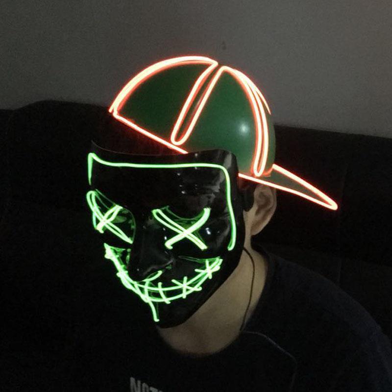 4eb803e9c03 Neon Nightlife Light Up Snapback Hat El Cap Led Hat - Buy Caps And ...