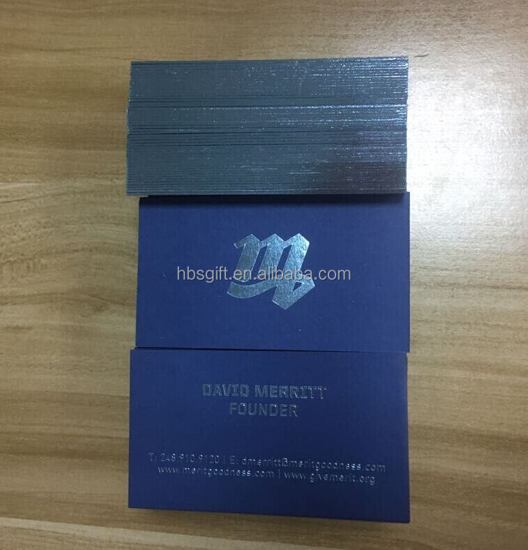 Luxury customized letterpress business card ,business card printing