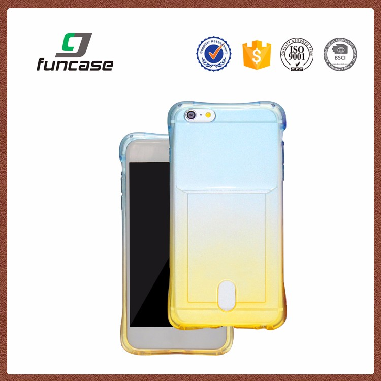 Made in China back cover waterproof phone case gradient color phone case for vivo x3s