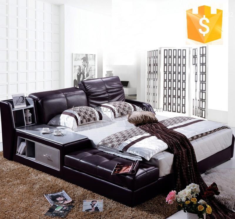 Modernes schlafzimmer möbel bett, zimmer möbel design leder betten ...