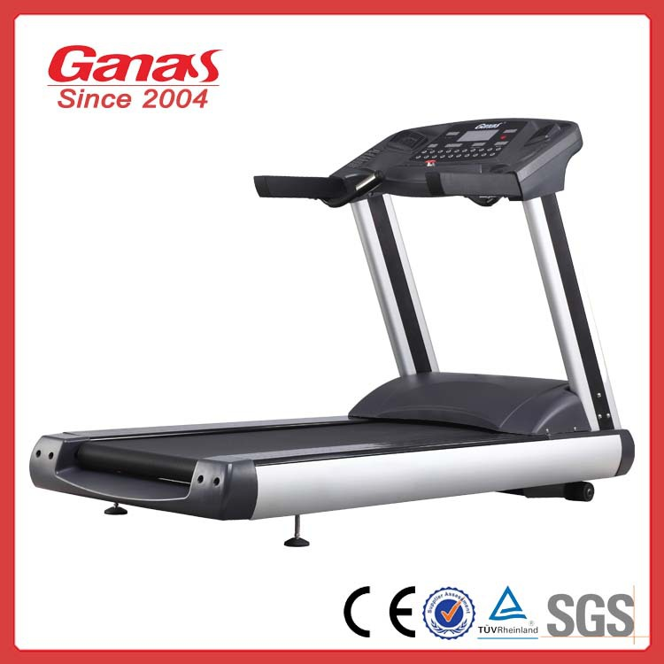 Ganas heavy duty gym equipment commercial fitness treadmill for promotion