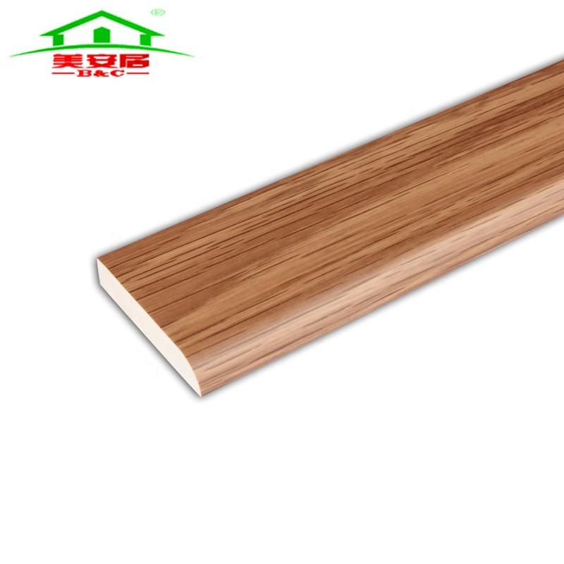 Waterproof Interior Wood Grain Pvc