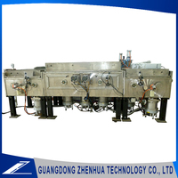 New technology two facing electromagnetic shielding film semiconductor vacuum sputtering coating production line