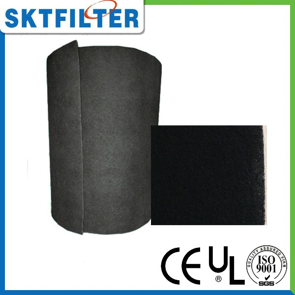 Customize shape and size carbon filter for air conditioner