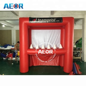 factory price&high quality inflatable archery tag equipment/used carnival games for sale