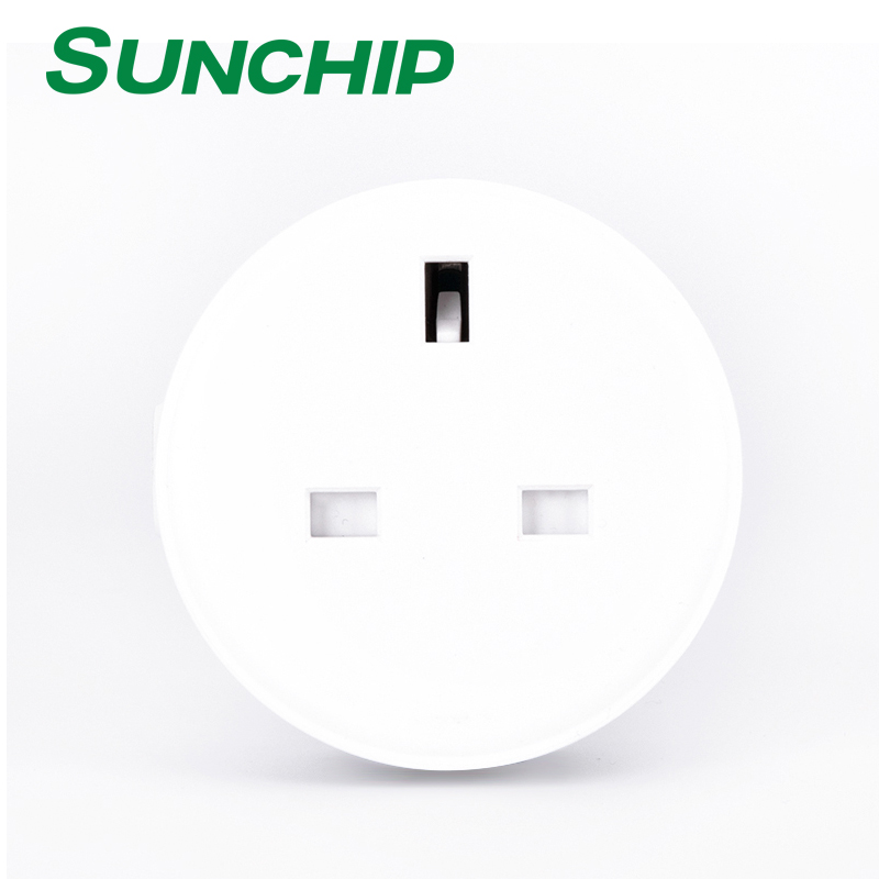 New Product UK Standard WiFi Socket App Control Power Amazon Echo Alex WiFi Smart <strong>Plug</strong>