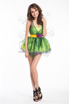 walson instyles sexy rebel tinkerbell peter pan pixie fairy tales costume adult women