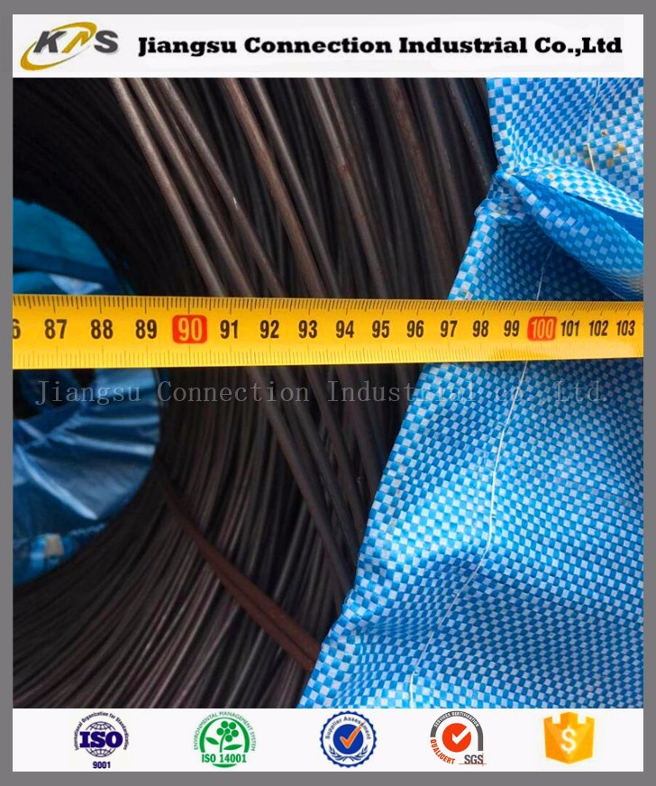 ER70S-6 hot rolled welding material aws e 6013 steel wire rod for welding electrodes
