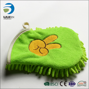Sell well soft massage grooming pet hair cleaning glove