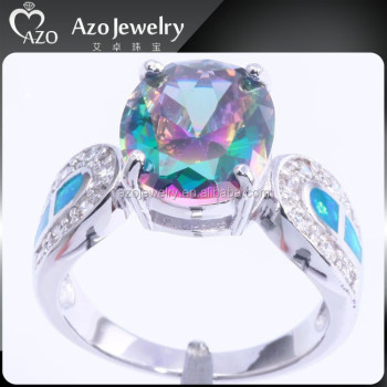topaz sirens rainbow sterling rings jewelrypalace solid fine products best gift fire jewelry grande sparkles genuine ring women mystic silver for