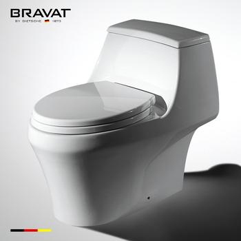 one piece ceramic siphon types toilet flushing mechanisms C21120XUW-3C,  View types toilet flushing mechanisms, Bravat Product Details from Bravat