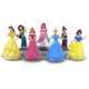 Hot selling pvc action figures toys princess figure with 20 years manufacturer