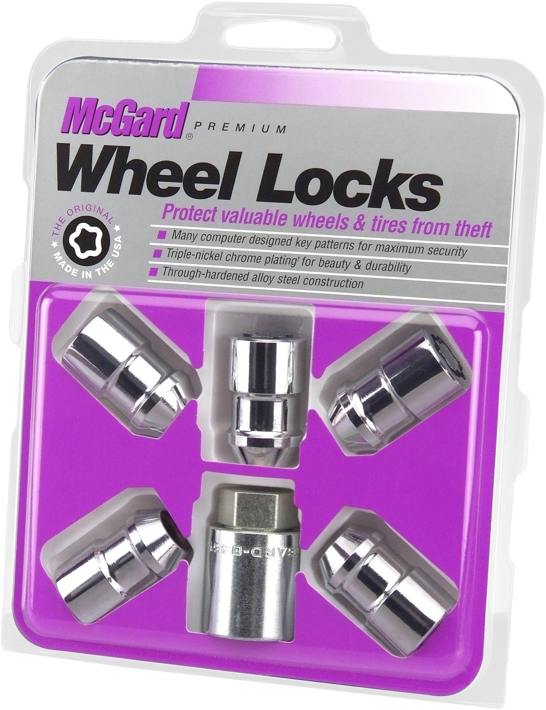 for 6 Lug Wheels 1//2-20 Thread Size McGard 84630 Chrome Cone Seat Wheel Installation Kit