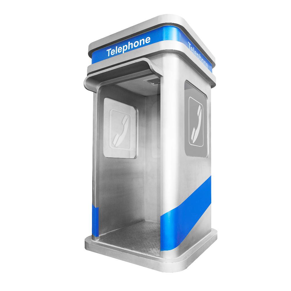 Schalldichte Telefonzelle Schallschutz Versehen Notfall Haube Telefonzelle für Büro
