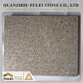 Wholesale prices per square foot rusty yellow granite slab
