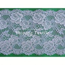Latest Nylon Spandex Stretch Wedding Lace Motif For Lingerie