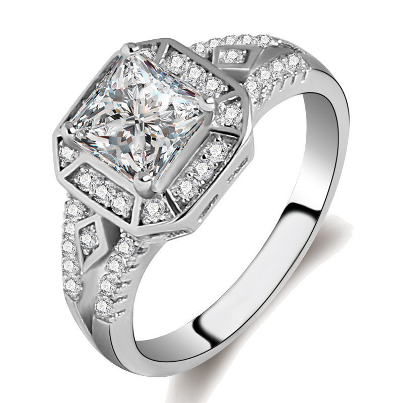 new model engagement ring cz light weight gold ring gents diamond ring design
