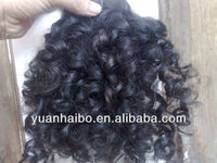 china hair factory wholesale factory cheap price no shedding/ tangle free best hair quality #1b virgin indian deep curly hair