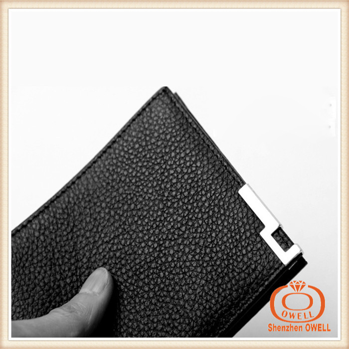 2015 hot best hotsell Gents Leather Wallets hand purse men