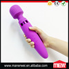 360 Degree Rotatable Silicone Head 15 Speeds Big Massager Amazon Hot Selling LED Light Magic Wand