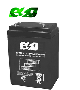 Rechargeable lead acid battery 12V 2AH Maintenance free ups batteries