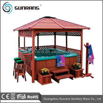 Sr888 Hot Tub Outdoor Used Chinese Wooden Gazebo Price Buy Wooden