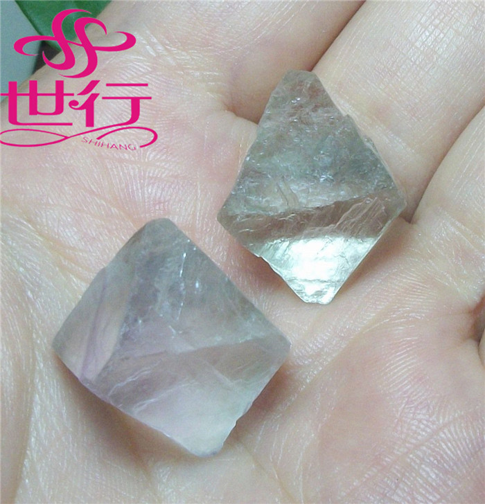 Wholesale Green Fluorite Octahedron Crystal Tumbled Stone