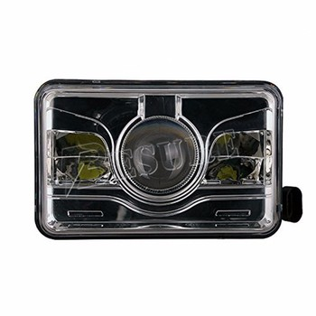 "4X6"" H4/H13 LED Driving Work Lamp Rectangle LED Headlight With Cutting Line Offroad Accessories For Motorcycle"