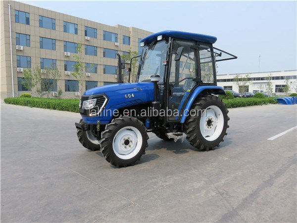 Hot sale 60hp 4wd farm tractor with front loader