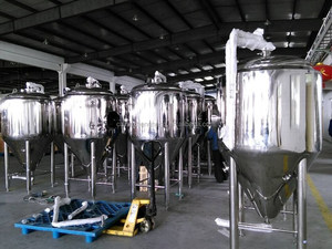 500 gallon beer fermenter/Glycol Jacket Conical Fermenter/Stainless Conical Fermenter